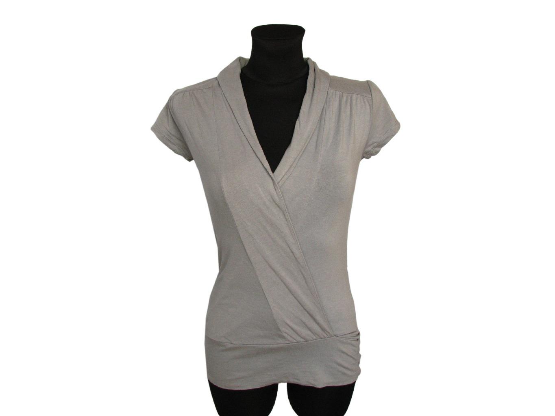 Женская серая блузка COTTON CLUB, XS