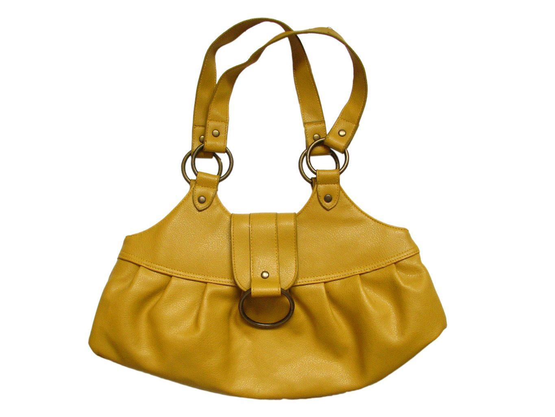 Желтая женская сумка