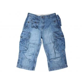 Мужские джинсовые длинные шорты CLOCKHOUSE CARGO W 32
