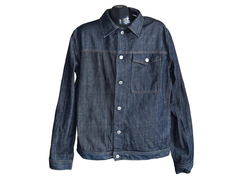 Мужская синяя джинсовая куртка FCUK, L