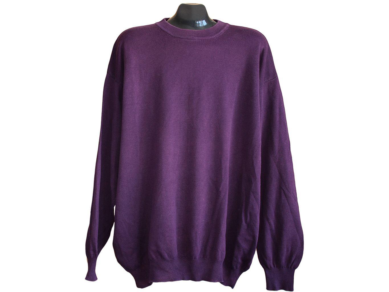 Мужской фиолетовый свитер BENETTON, 6XL