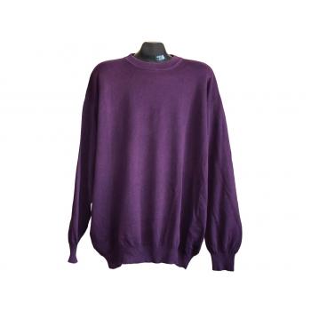 Мужской фиолетовый свитер BENETTON