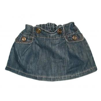Синяя джинсовая детская юбка NEXT