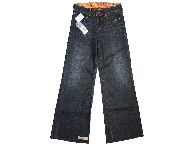 Женские широкие джинсы клеш GUESS JEANS, XXS