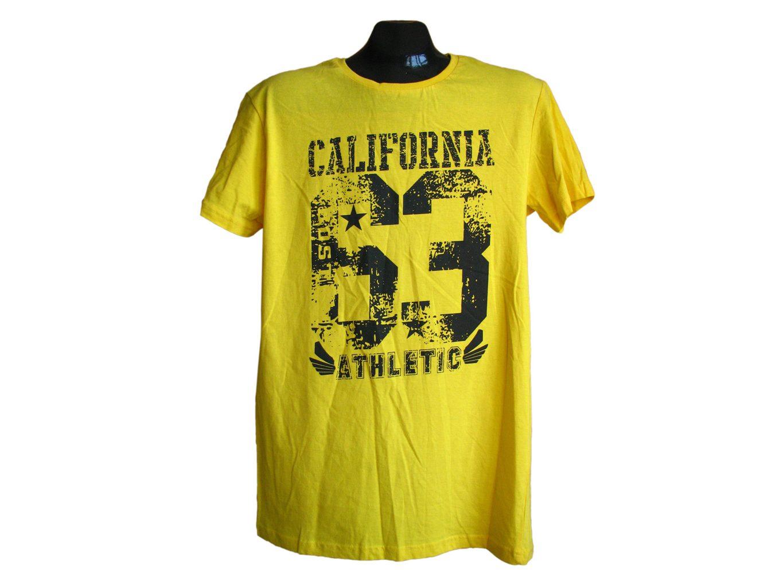 Мужская желтая футболка CEDARWOOD, М