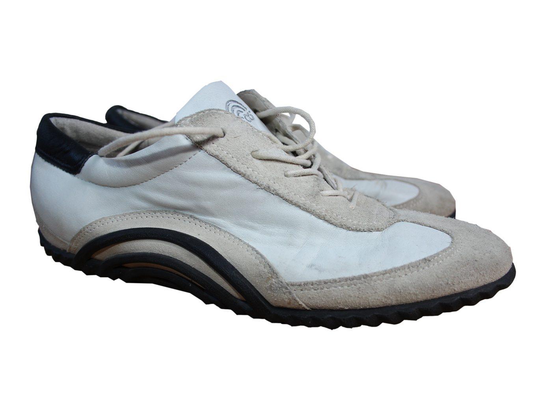 Женские кожаные кроссовки ECCO 39 размер