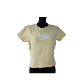 Женская желтая футболка GEAR for sport