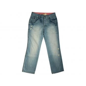 Джинсы рваные мужские голубые NEXT BOOT FIT W 30 L 34