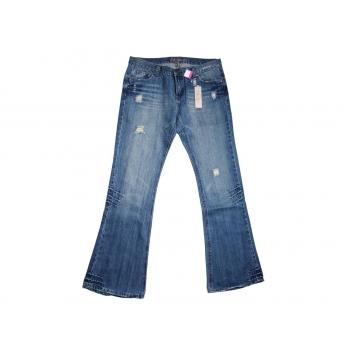 Женские рваные джинсы клеш ROMANY, XL