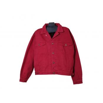 Женская красная джинсовая куртка большого размера C&A