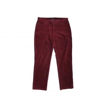 Женские бордовые вельветовые брюки BRAX, L