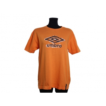 Женская оранжевая футболка UMBRO, XL