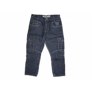 Мужские крутые джинсы W 34 POLICE CARGO