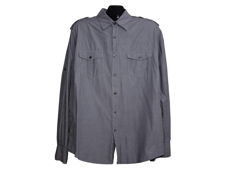 Мужская серая рубашка RED HERRING, XL