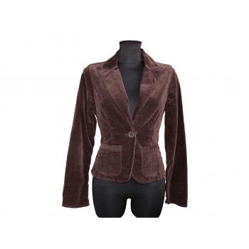 Женский велюровый пиджак WE