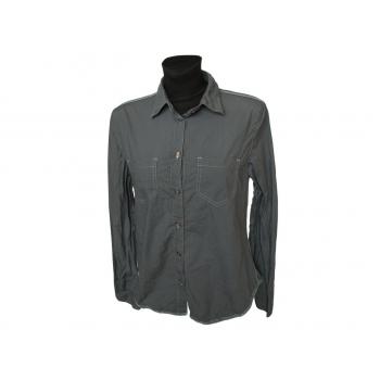 Женская серая рубашка DKNY JEANS, М