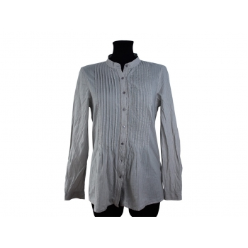 Женская серая рубашка ZARA