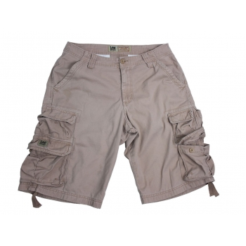 Мужские бежевые шорты LEE CARGO W 30
