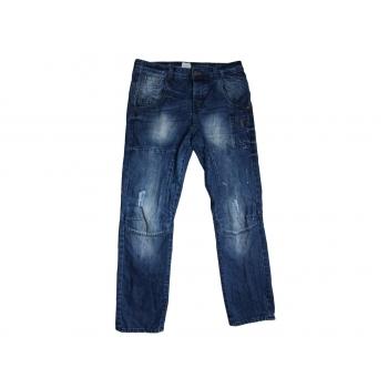 Мужские рваные джинсы W 34 L 32 DENIM
