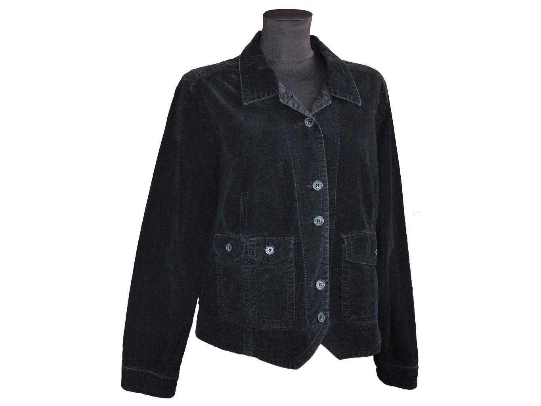 Женская черная куртка SANDWICH, L