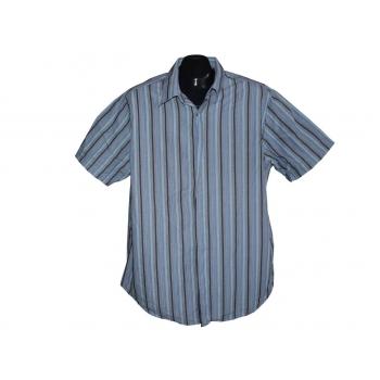 Мужская серая рубашка в полоску JASPER CONRAN, L