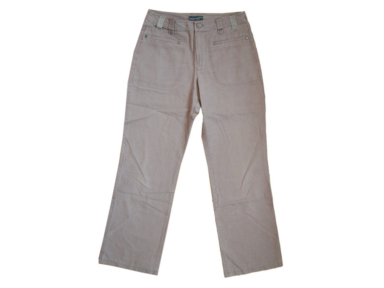 Женские коричневые брюки ESSENTIALS, S