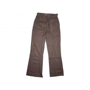 Женские коричневые льняные брюки BP C, XXS