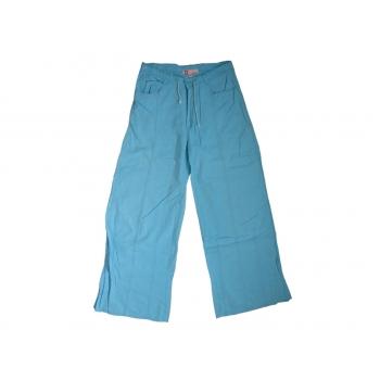 Женские голубые расклешенные брюки HYPE, XS