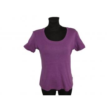 Женская футболка фиолетового цвета JACK POT, М