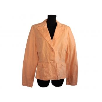 Женский пиджак абрикосового цвета ETAM, М