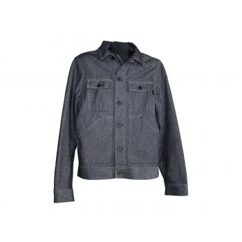 Мужская серая джинсовая куртка JACK & JONES, M