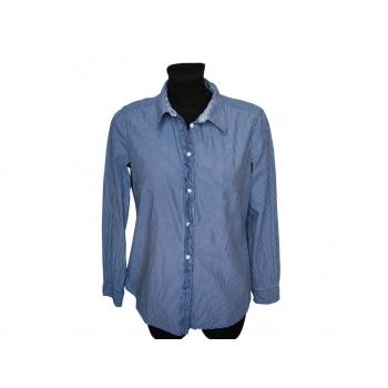 Женская синяя рубашка в полоску ESPRIT, М