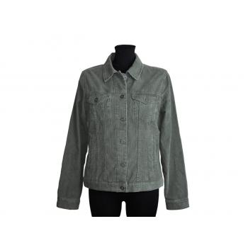 Женская  зеленая вельветовая куртка EDDIE BAUER