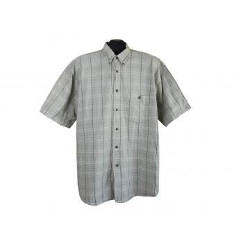 Рубашка мужская в клетку, XL