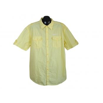 Рубашка мужская желтая C & A, XXL