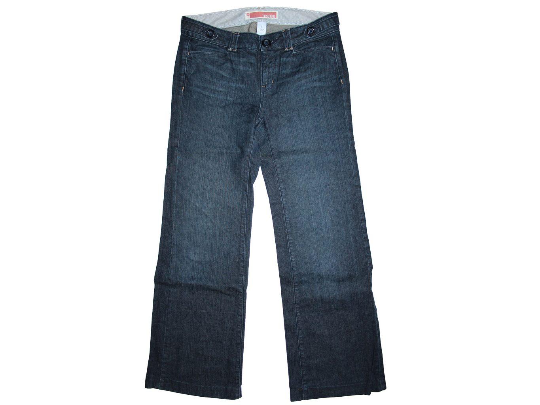 Женские широкие джинсы клеш TROUSER GAP, L