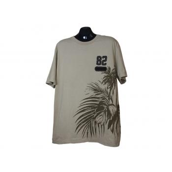 Мужская бежевая футболка L.O.G.G. by H&M, XL