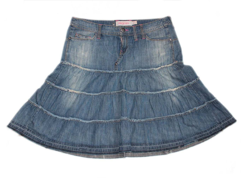 Женская джинсовая юбка MANGO, М