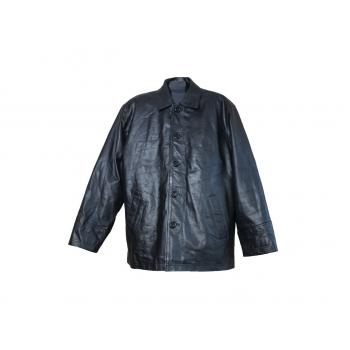 Мужская кожаная утепленная куртка IRON SIDE, L