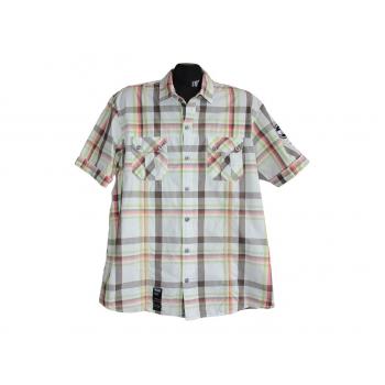 Мужская рубашка в цветную клетку GEORGE, L