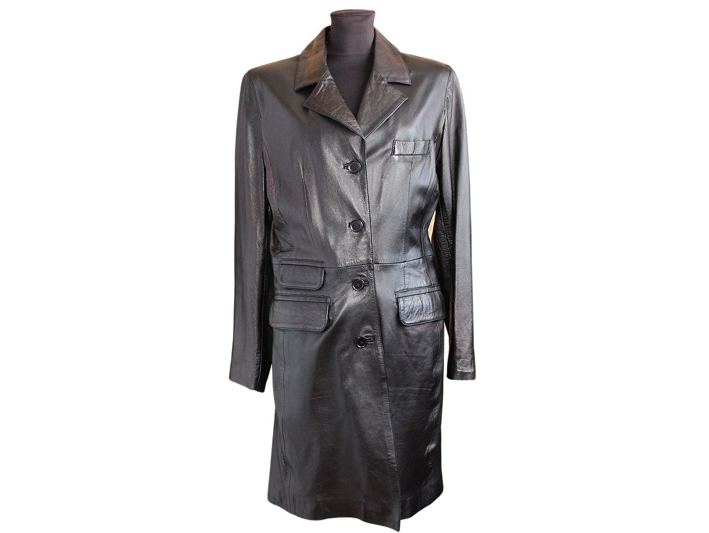 Женское кожаное пальто MISSION