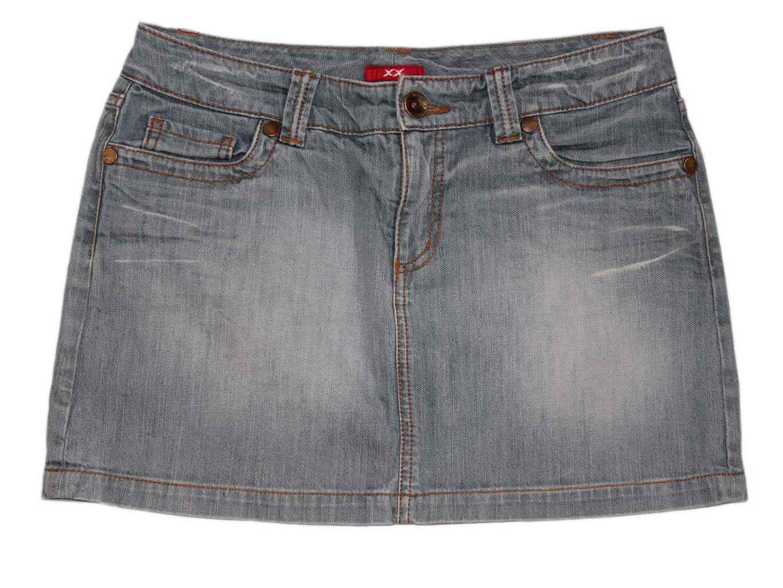 Женская джинсовая мини юбка МЕХХ jeans, М
