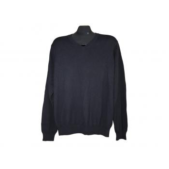 Мужской черный пуловер BLUE HARBOUR MARKS & SPENCER, L