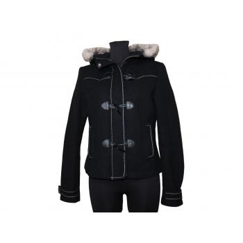 Женское пальто евро зима с капюшоном H&M, S