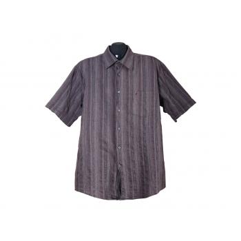Мужская коричневая рубашка JAC TISSOT, XL