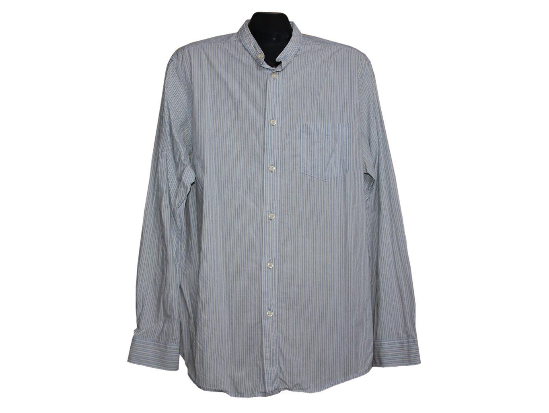 Мужская рубашка с воротником стойкой COLONIAL, L