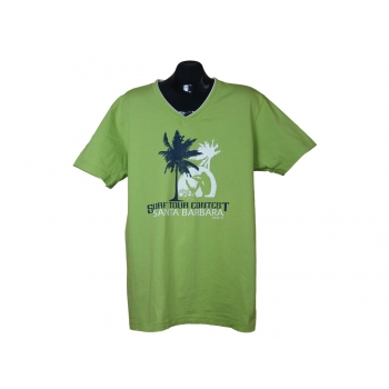 Зеленая мужская футболка ANGELO LITRICO, XL