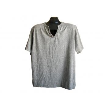 Мужская серая футболка NEW LOOK