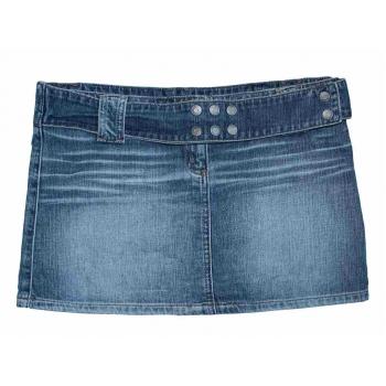 Женская джинсовая мини юбка RIVER ISLAND, S