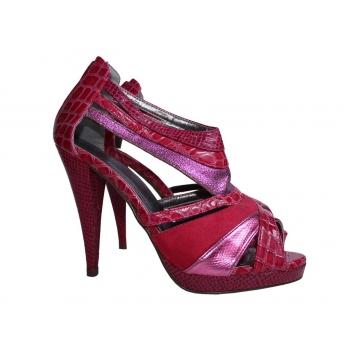 Женские красные босоножки QUEEN 39 размер